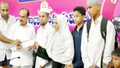 Photo of Hyderabad crane victims of Makkah received hefty amount