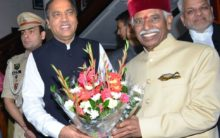 Dattatraya sworn in as Himachal Governor