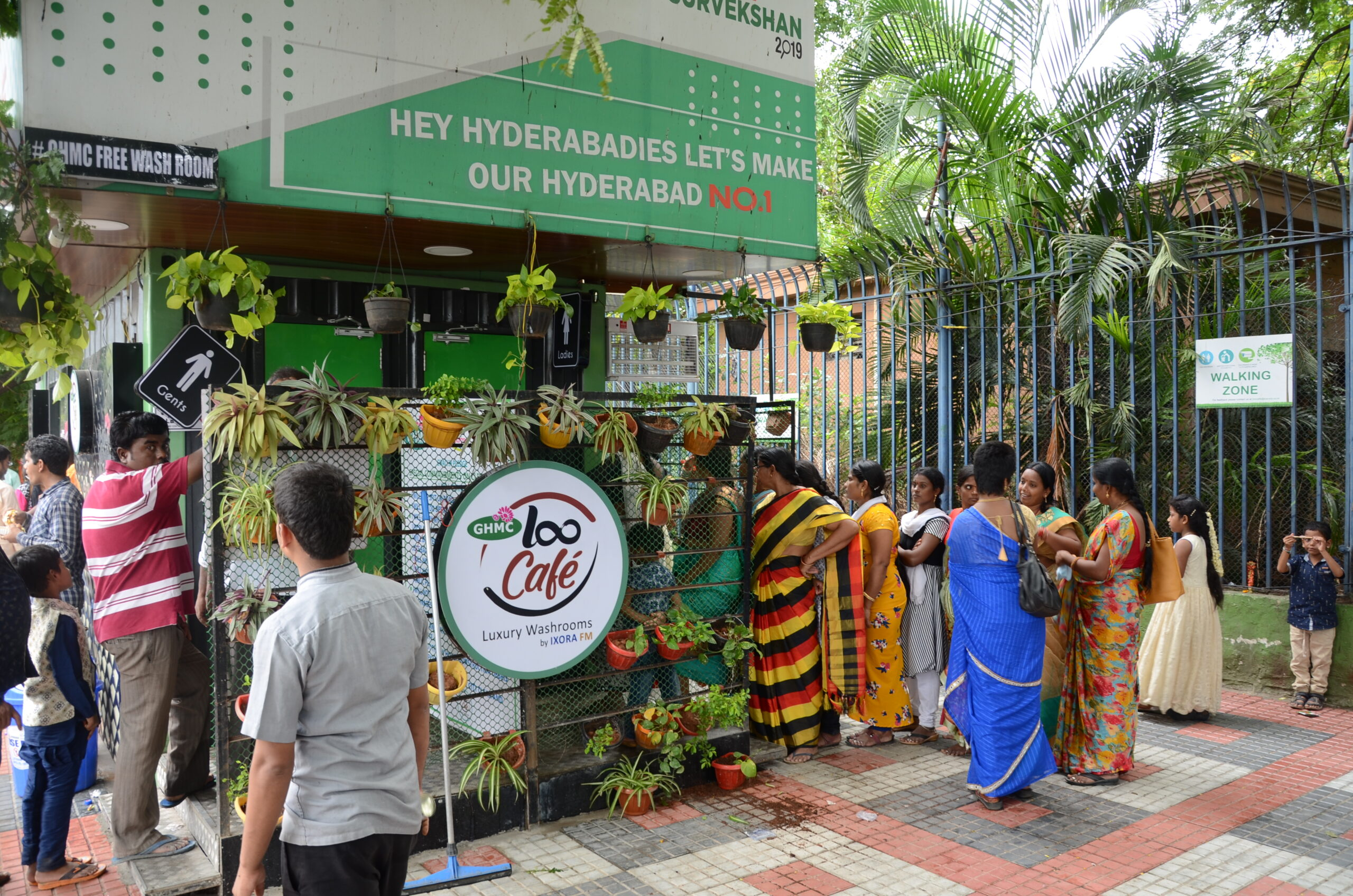 GHMC Loocafé breaks records with over 10k people using washrooms