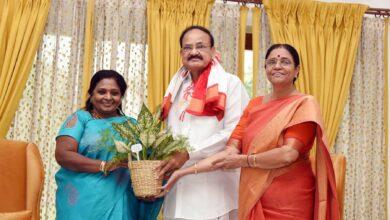 Photo of Guv Telangana meets Venkaiah
