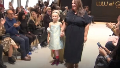 9-year-old double amputee debuts on Paris fashion catwalk