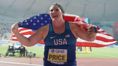 Photo of DeAnna Price becomes first American woman to win hammer world title