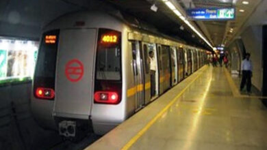 Photo of Delay on Delhi Metro's Violet Line; services resume