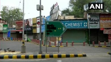 Photo of Hindu Sena blackens Babur Road signboard, demands name change