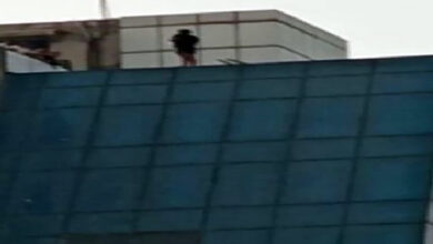 Photo of Man rescued after he threatened to commit suicide in a hotel