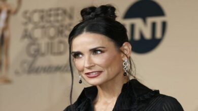 Photo of Demi Moore claims Ashton Kutcher made fun of her alcoholism
