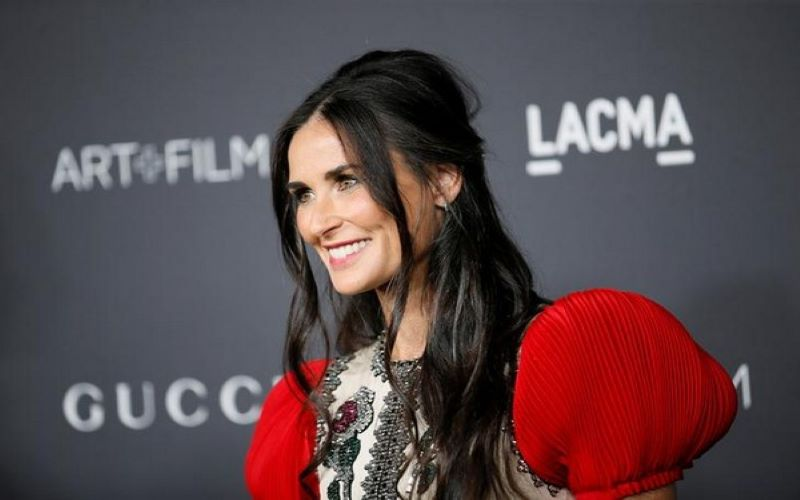It was awesome to spend our time together: Demi Moore