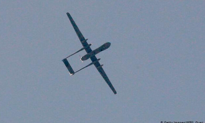 Israeli drone overflying Lebanon targeted by missile: army