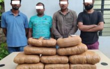 Four held with 22 kg ganja at MGBS bus stand in Hyderabad