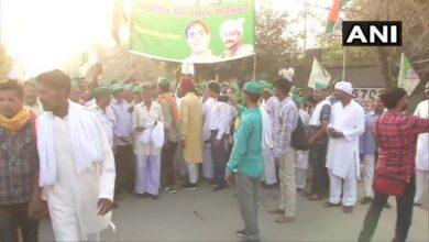 Photo of UP farmers begin march towards Kisan Ghat in Delhi