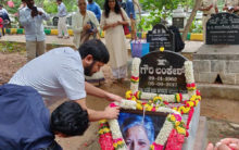 Floral Tribute to Gauri Lankesh