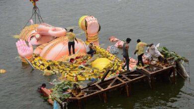 Photo of Bye-bye Lord Ganesha