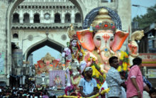 Balapur Ganesh 'laddu' sold for record Rs 17.60 lakh in auction