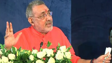 Photo of Giriraj Singh stresses on law over Population control