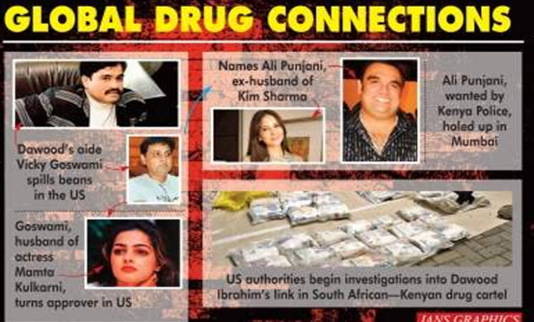 Global drug connection: Bollywood, Dawood links emerge