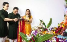 From Govinda to Arpita Khan, celebrities host Ganesh Utsav