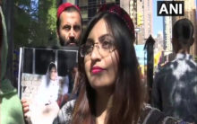 Gulalai Ismail: The new face of anti-Pakistan protest in New Yor