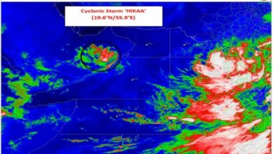 Photo of Cyclonic storm 'Hikka' to reach Oman coast by today afternoon: IMD