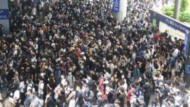 Photo of HK protesters urge UK to back democratic calls