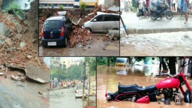 Photo of TS: Heavy rain causes havoc; Girl killed in house collapse