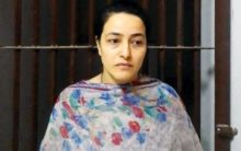 Honeypreet gets rousing welcome in Sirsa