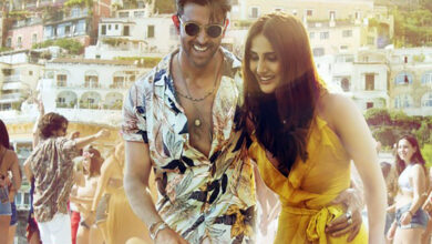 Photo of Hrithik, Vaani will make you groove on 'Ghungroo'