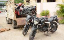 Five-member gang held for theft