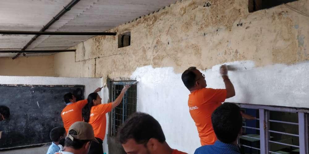 1200+Optum employees help communities in Hyderabad, Delhi NCR