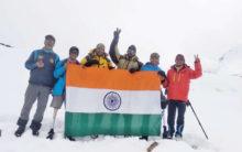 AMF & BSF Institute Training teams scaled Mt. Bhageerathi II