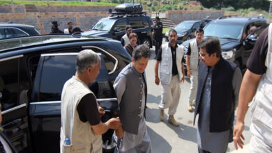 Photo of Pak PM visits earthquake-hit Mirpur district in PoK