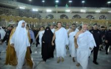 Imran Khan, his wife perform Umrah