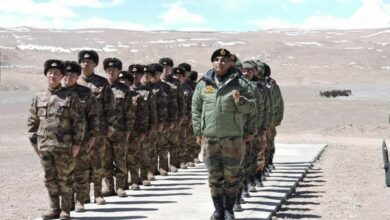 Photo of Indian, Chinese soldiers engage in face-off near PangongTso Lake
