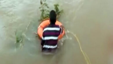 Photo of Pune: a 39-year-old man trapped in Indrayani river rescued