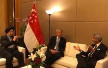 Jaishankar holds talks with Singapore senior minister