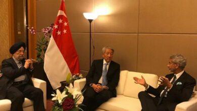 Photo of Jaishankar holds talks with Singapore senior minister