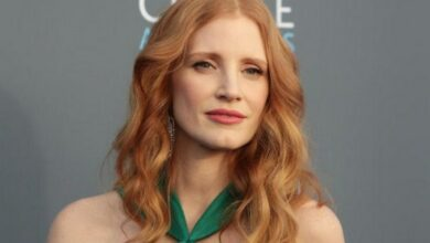 Photo of Jessica Chastain recalls watching horror film 'Exorcist'