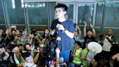Joshua Wong in US to seek support for Hong Kong's pro-democracy movement