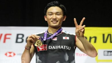 Photo of Kento Momota wins Korea Open