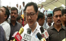 Youngsters in J&K want to take part in sports, says Kiren Rijiju