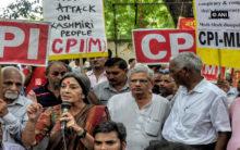 Left parties demand farm loan waiver, unemployment allowance