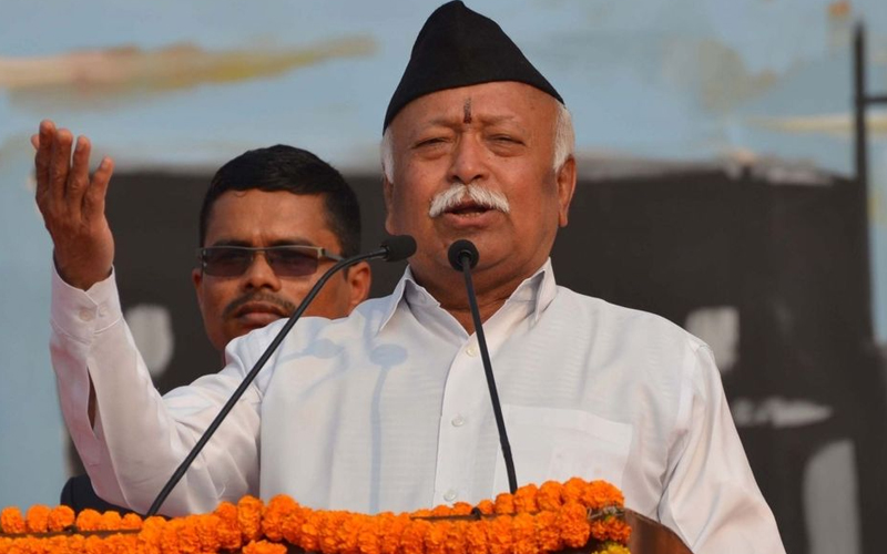 RSS Chief Mohan Bhagwat to visit Hyderabad for Ganesh Immersion