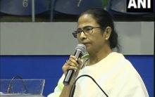 Mamata commits gaffe,lauds 'Abhishek Babu'as Nobel Prize winner