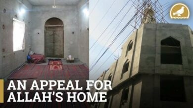 Photo of Appeal to build a mosque- Account details updated