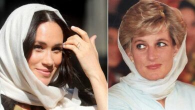 Photo of Donning a headscarf, Meghan reminds of Princess Diana