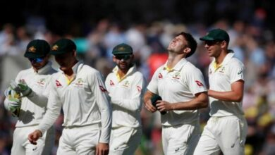 Photo of Mitchell Marsh fifer bundles England for 294 in fifth Ashes Test