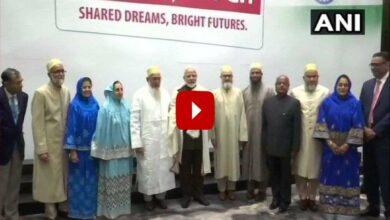 Photo of Houston: Modi meets Dawoodi Bohra community members