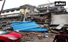 Mumbai: Portion of four-storeyed building collapses