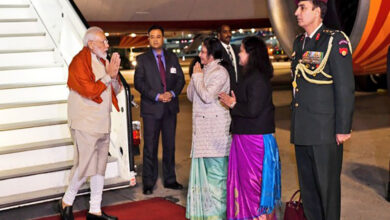 Photo of Modi leaves for Houston after halt in Frankfurt