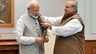 Photo of J-K Governor calls on PM Modi