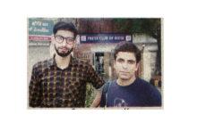 Duo Nasar and Amar came forward to help Kashmiri students